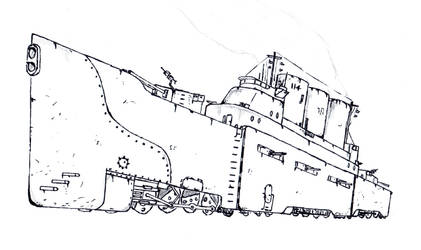Gillard class Heavy Railcruser