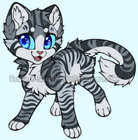 Kitten 1  -- CLOSED -- by sassyheart-adopts