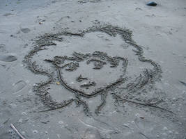 Carrie in Sand by Dolari