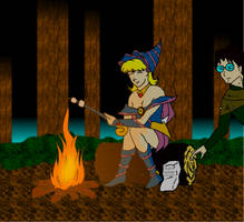 Dark Magician Steph by Dolari