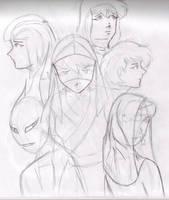 200 Episode Original Art by Dolari