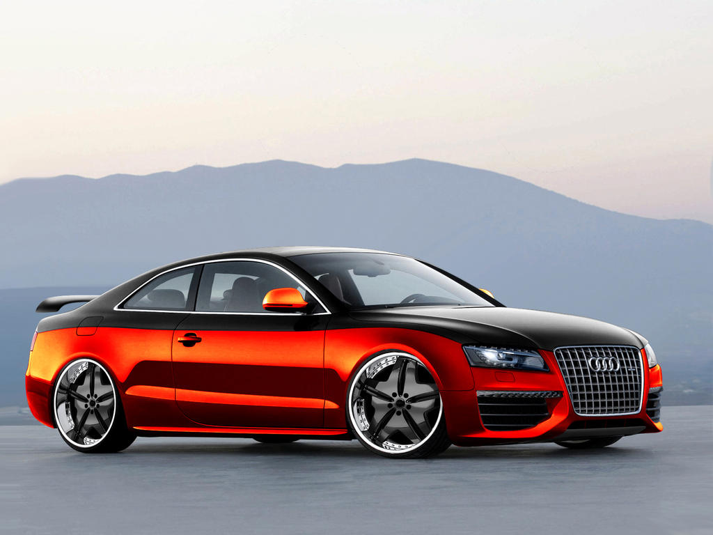 audi s5 tuning by morfiuss on deviantart. Black Bedroom Furniture Sets. Home Design Ideas