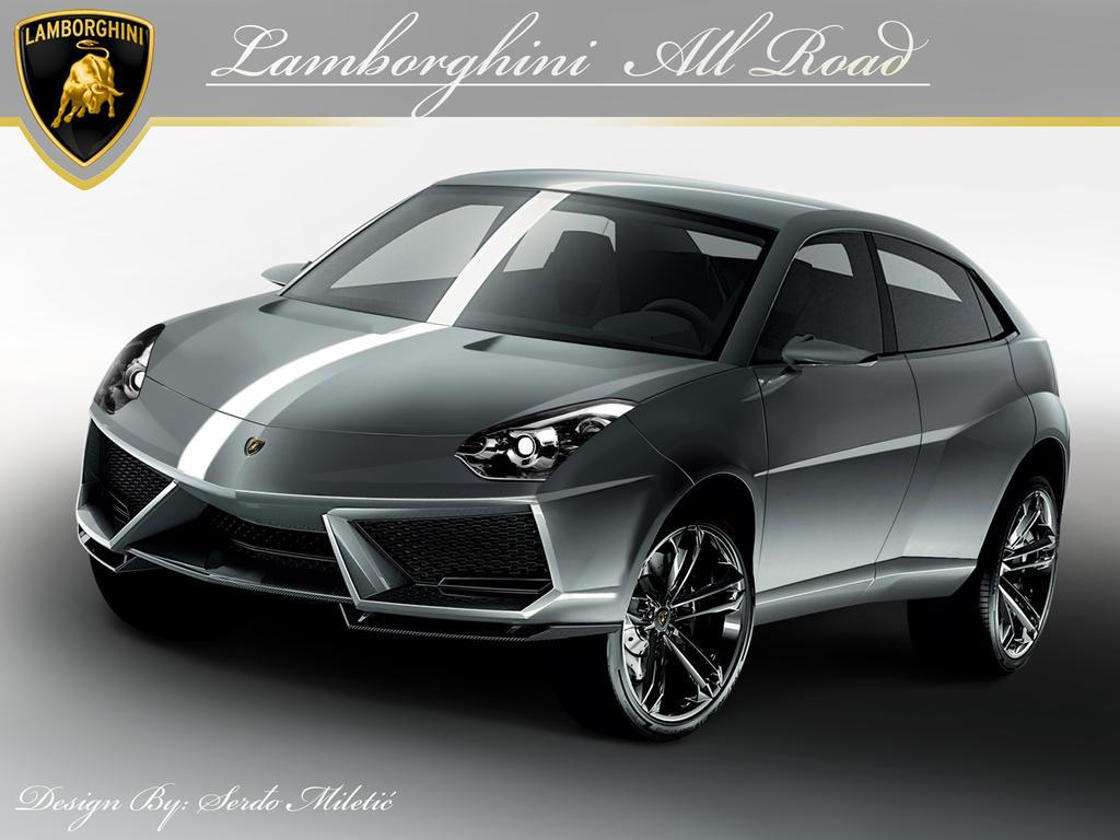 lamborghini 4x4 all road by morfiuss on deviantart. Black Bedroom Furniture Sets. Home Design Ideas