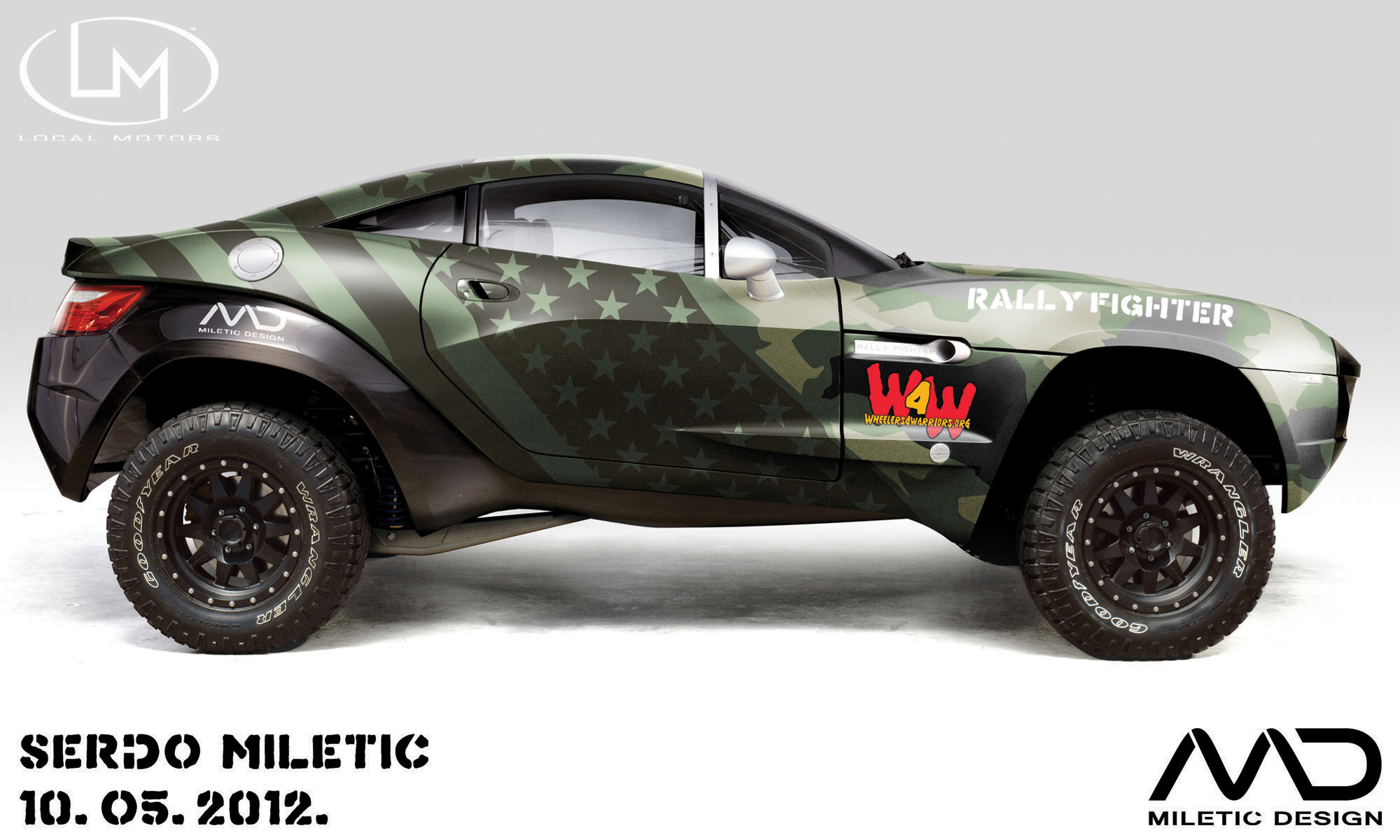 local motors rally fighter by morfiuss on deviantart. Black Bedroom Furniture Sets. Home Design Ideas