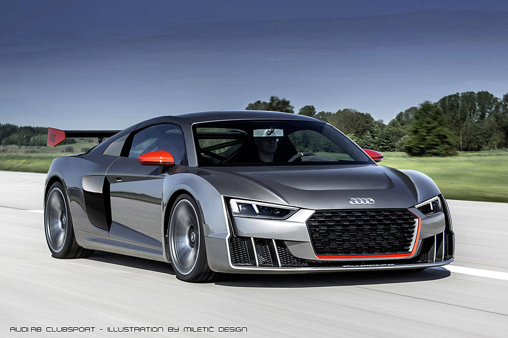 AUDI R8 Clubsport by Morfiuss