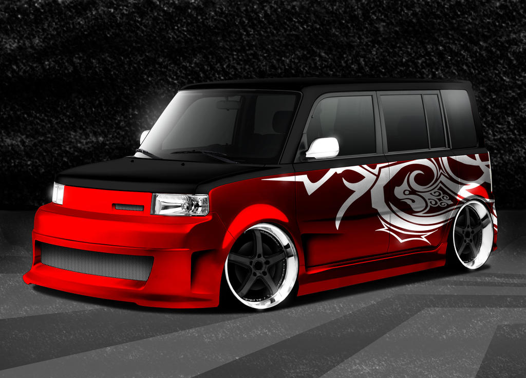 Scion-Red-Black by Morfiuss