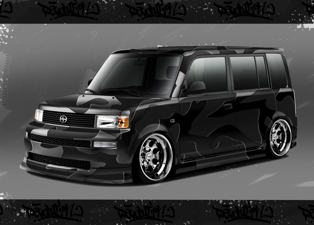 Scion-Carbon-Black metalic by Morfiuss