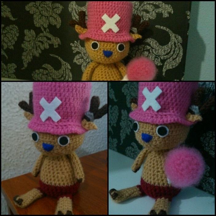 Amigurumi One Piece : Chopper from One Piece amigurumi [comision] by ...