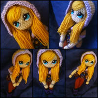 Spellthief Lux amigurumi from League of Legends