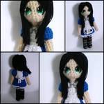 Alice Liddell amigurumi from Alice Madness Returns