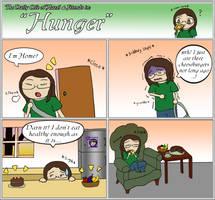DLoHaf: Hunger by HazelAlmonds