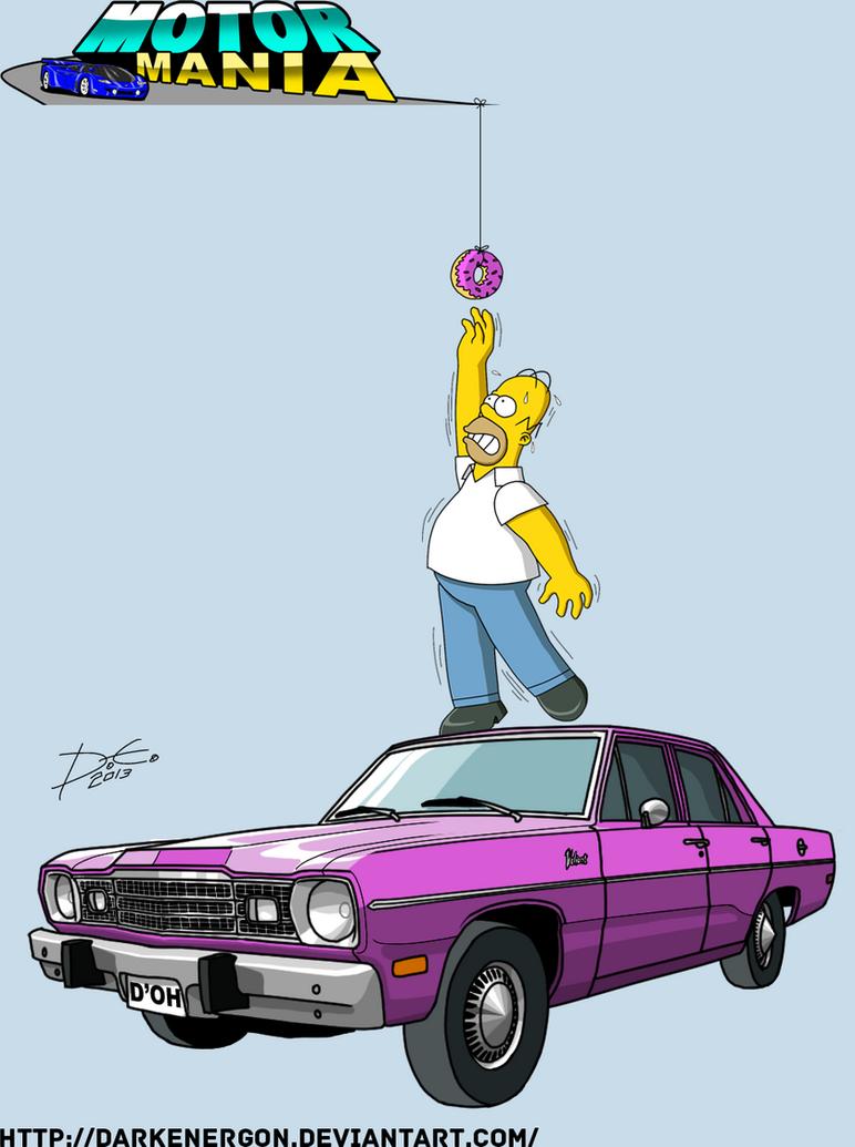 MM-Homer Simpson by DarkEnergon by DarkEnergon