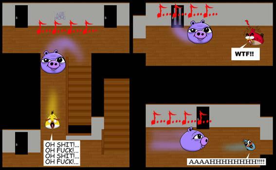 Angry Birds Plays Ao Oni
