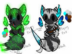 PRICE LOWERED Winged wolf pup adopts {OPEN}