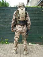 German KSK uniform back side by Mariukai