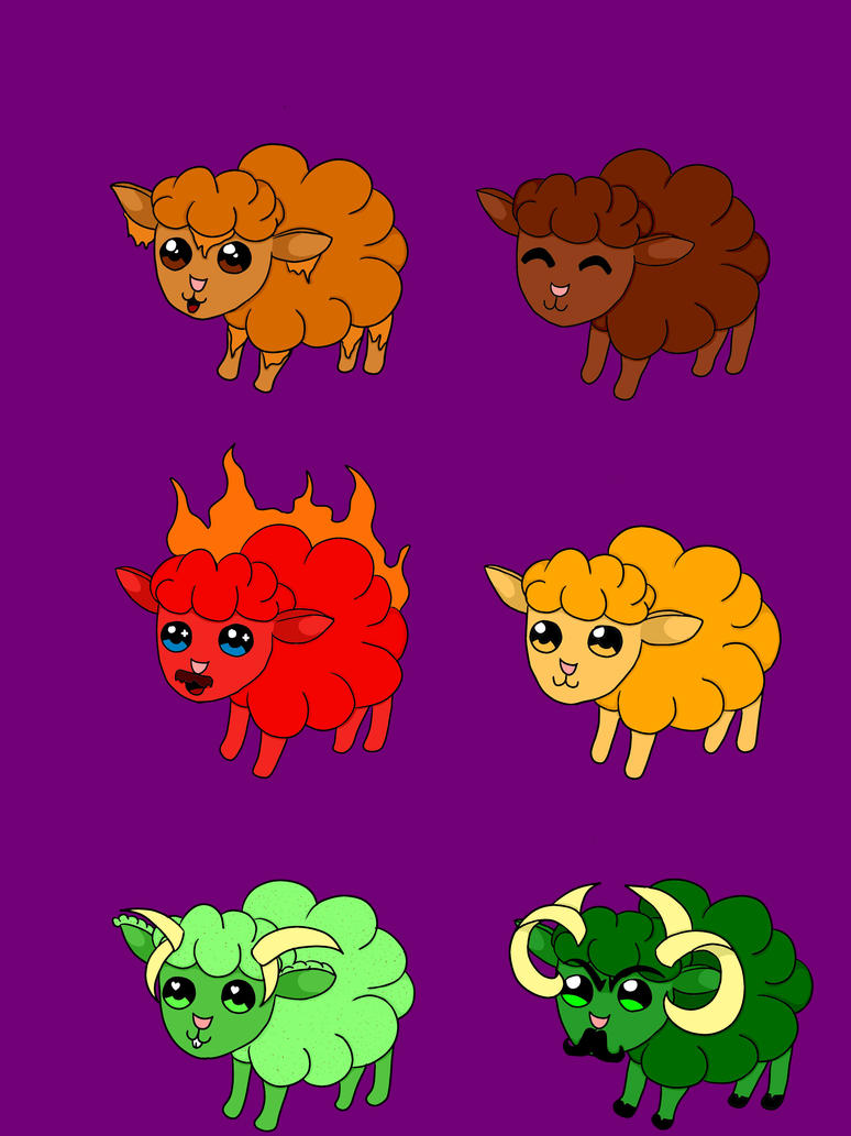 Popcorn Sheeps Adopt by DJBoomBase