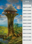 2012 Quantarasitto - Poster-Type Wall Calendar