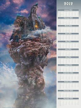 2012 Bannitio - Poster-Type Wall Calendar