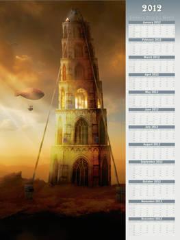 2012 Endless Dreamy World - Poster-Type Calendar