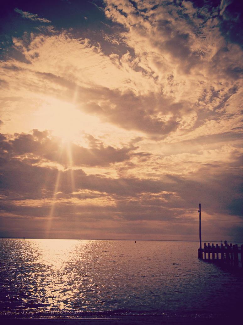 Fairhope Pier by SociopathicAngel