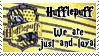 Hufflepuff Stamp by Kileaiya