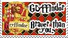 Gryffindor Stamp by Kileaiya