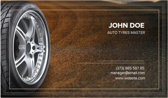 Creative tire business card template by printing services on deviantart creative tire business card template by printing services colourmoves