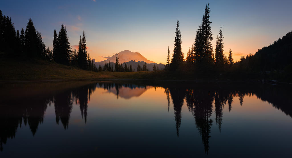 Mt Rainier National Park by Printing-Services