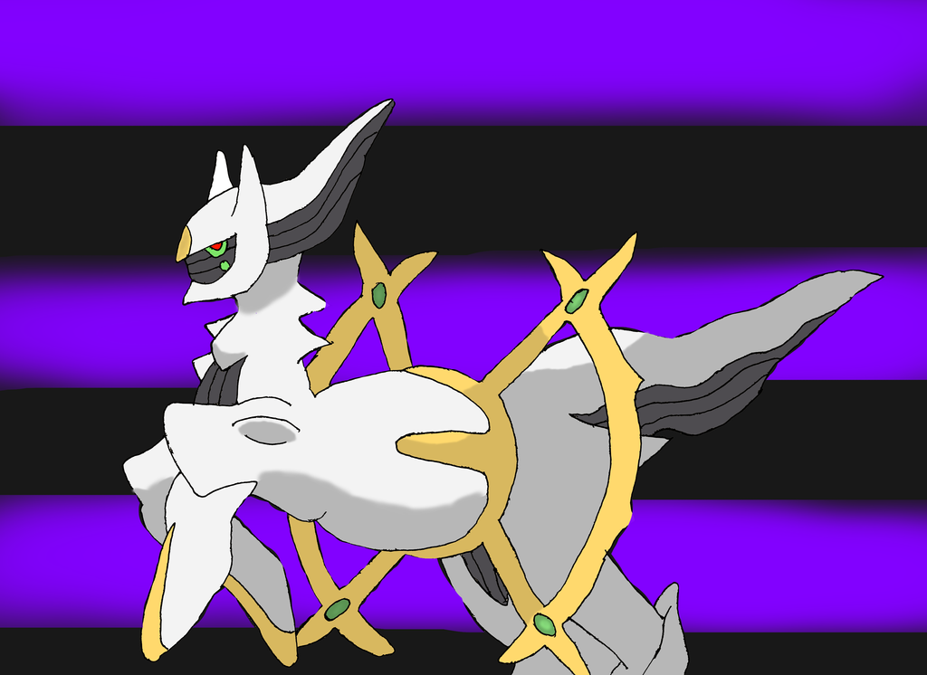 Arceus by DarkDragon-Phoenix