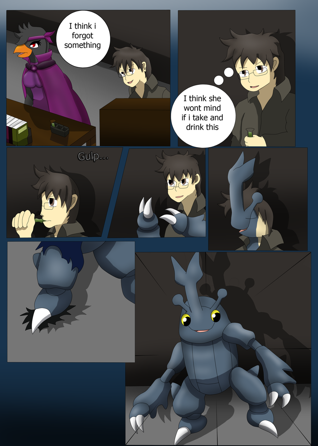 how to turn someone into a pokemon