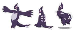 Comission: Shadow Lugia Ref