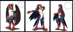 Swellow Living Suit TF by Avianine