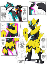 Zeraora fursuit TF by Avianine