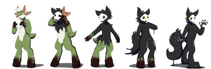 Latex Wolf Puro Mask TF