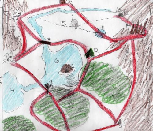 Map of FF7 Glacier by Renalon