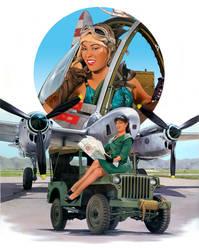 P-38 Lightning by davenestler