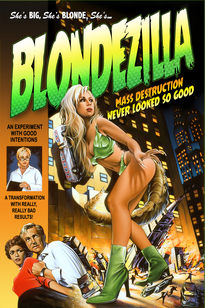 Blondezilla by davenestler