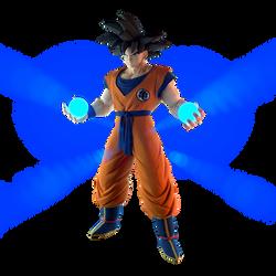 DBZ FIGHTERZ - Goku by DavidChikardi