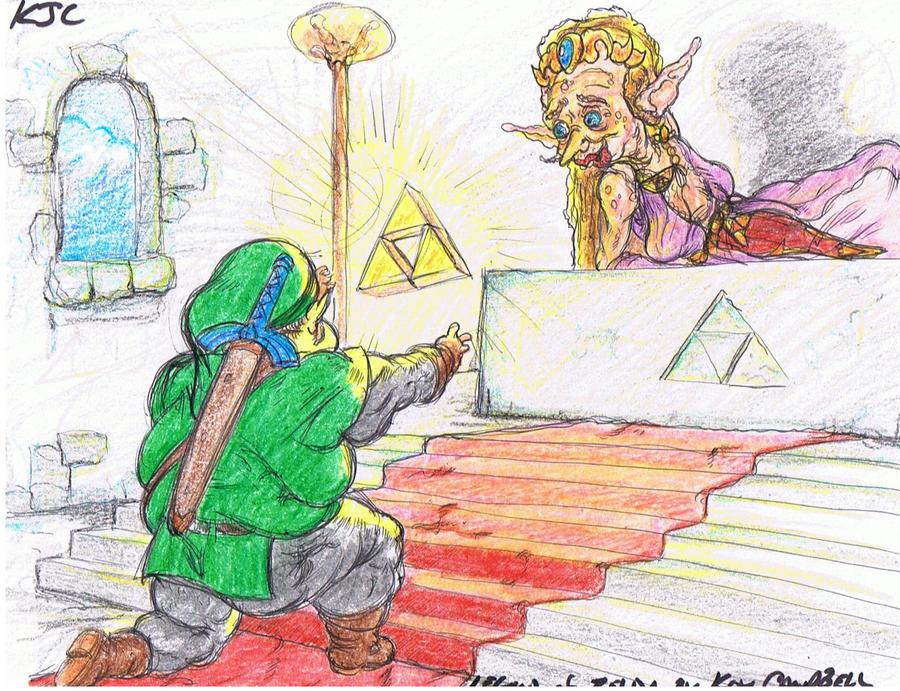 Legend of Zelda fan art by NM8R-KJC ...