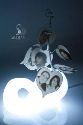 Infinite outbreak lamp