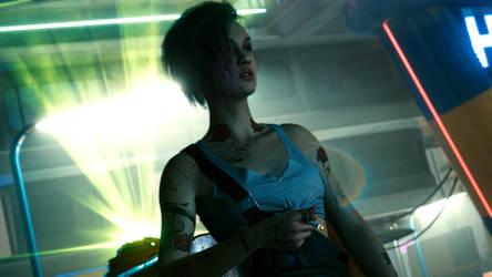 Cyberpunk 2077 - Judy Smoking 8
