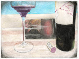 Visual Arts Sketch #1 - 3 Things From My Kitchen by Valeradaine