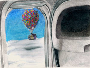 Visual Arts Sketch #6- Through the Looking Glass