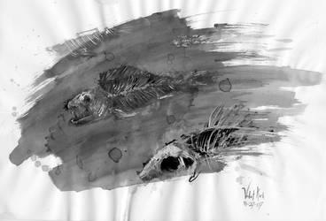 Pretty Fishies by Aazure-Dragon