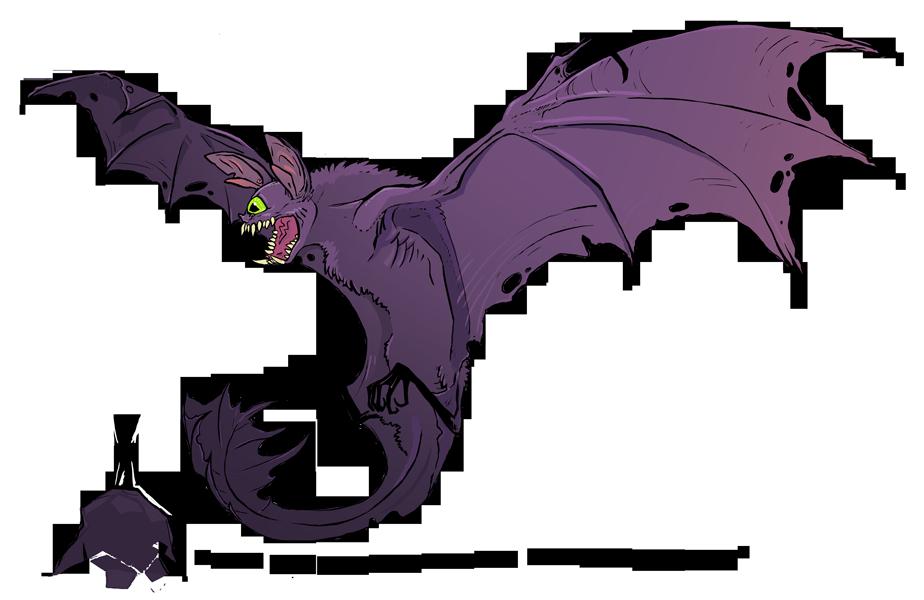 drakk bat dragon by - photo #22