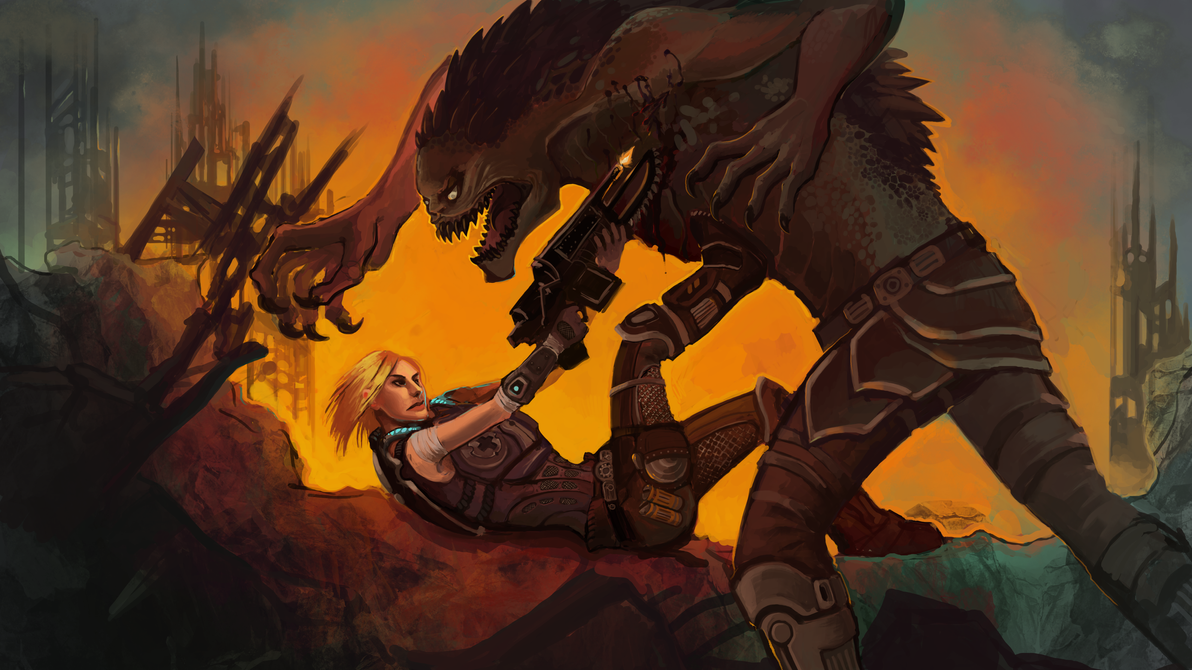 GoW Entry by Aazure-Dragon
