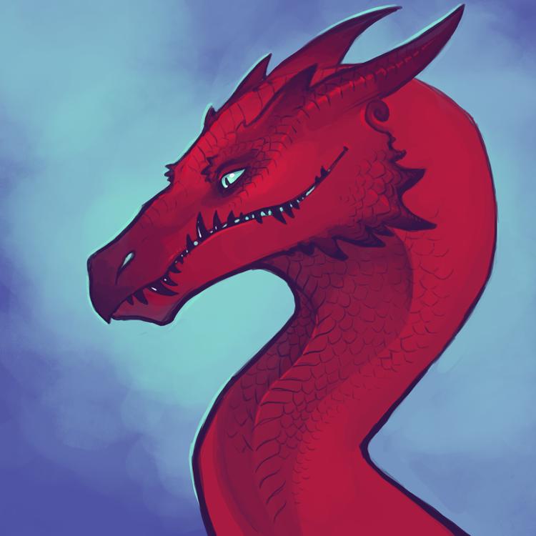 Dragon Portrait by Aazure-Dragon