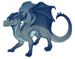Another Small Dragon by Aazure-Dragon