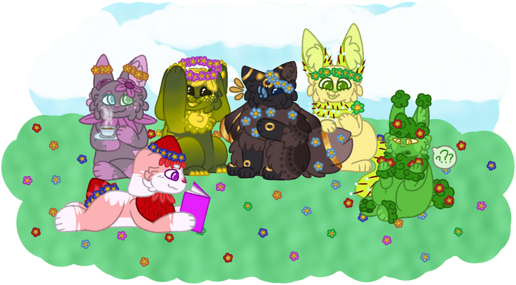 [MC] [RTA] Bunnies and kitties and flowers, oh my!