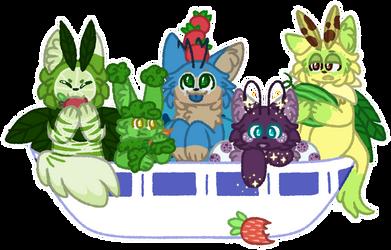 [CLOSED RAFFLE] Weird Salad!